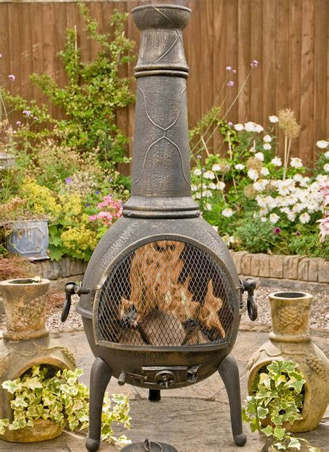 sierra bronze jumbo cast iron chiminea fireplace