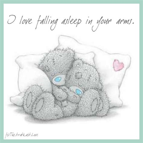 Falling Asleep In Your Arms Quotes