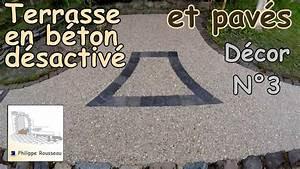 Comment Faire Du Beton : faire du b ton d sactiv et pose de pav s partie 6 ~ Melissatoandfro.com Idées de Décoration