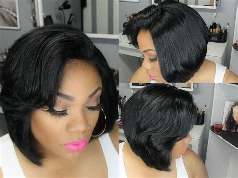 Weave Bob Haircuts For Black Women