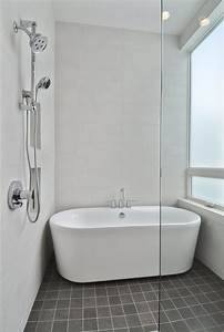 Bathroom entranching small bathroom with bathtub and for Small bathroom designs with bath and shower