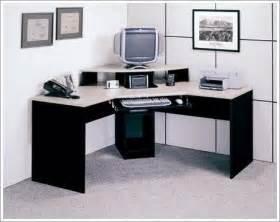 pleasing corner office desk in budget home interior design