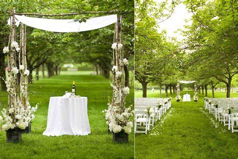 simple outdoor decorating ideas simple wedding reception decorations outdoor siudy net