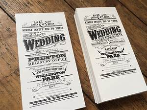 hand made victorian style screen printed wedding invites With custom wedding invitation printing uk
