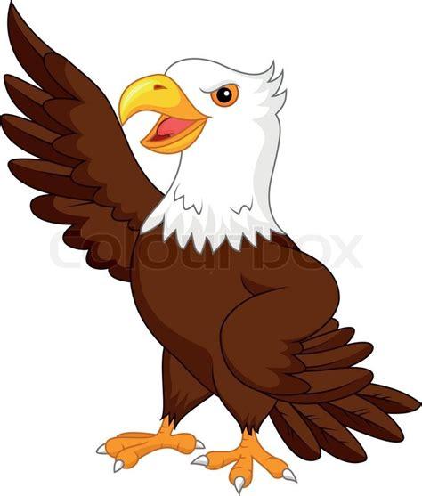 freedom tree design home vector illustration of eagle waving stock vector