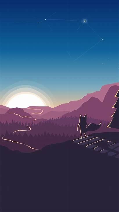 Wallpapers Forest Xiaomi 4k Minimalism Fox Artwork