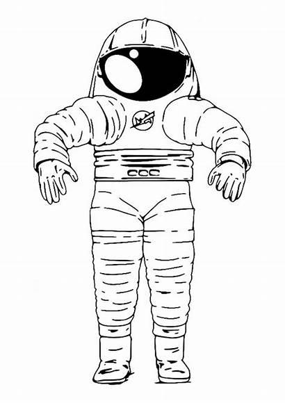 Space Suit Coloring Pages Edupics