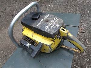 Mcculloch 10 10 Automatic Chainsaw