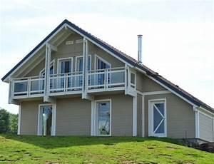 maison bois gamme tendance bardage canexel nos maisons With energie d une maison 8 maison 224 ossature bois avec bardage canexel nos maisons