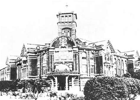 bureau d 騁ude construction 台湾総督府専売局