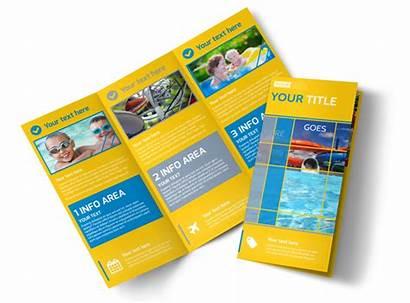 Park Brochure Water Template Fold Flyer Templates