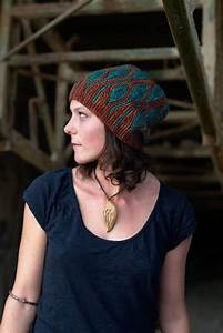 Toph Slouchy Beanie Hat Pdf Knitting Pattern Instructions