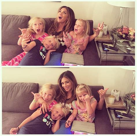 nicole scherzinger enjoys day   nieces