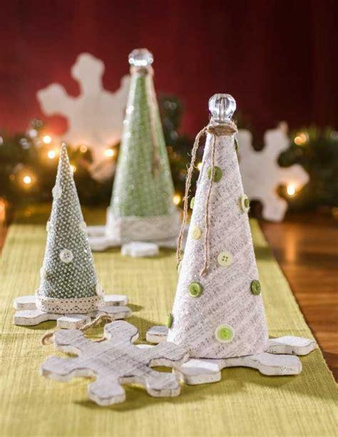 christmas glitter paper mache cones