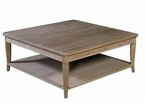 Table Salon Carrée : table basse salon carree maison design ~ Teatrodelosmanantiales.com Idées de Décoration