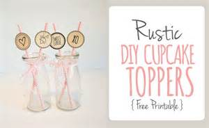 rustic wedding cake topper printable cupcake topper cocktail stirrers free