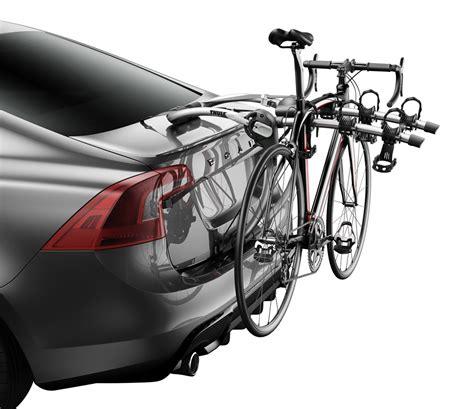 trunk bike rack thule gateway xt 3 bike rack trunk mount adjustable