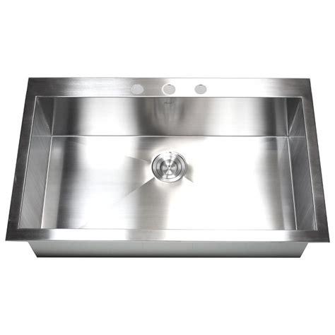 best stainless steel sink 36 inch top mount drop in stainless steel single