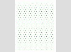 Isometric color dot Graph Paper Free Download