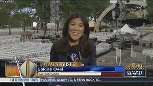 VIDEO: Nydia Han gets ready for papal visit coverage ...