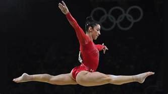 100 aly raisman floor routine olympics 2016 biles u0026 aly raisman take gold