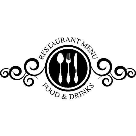 sticker restaurant menu food  drinks stickers