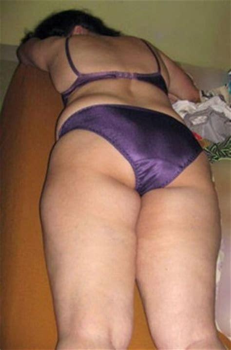 Indian Aunty Panty Ass Naked Photo