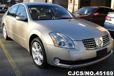 auto air conditioning service 2006 nissan maxima lane departure warning 2006 left hand nissan maxima beige for sale stock no 45169 left hand used cars exporter