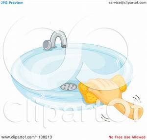 Clean Bathroom Sink Clipart - Clipart Suggest