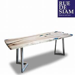 Plateau Bois Bureau : 69 best images about rue de siam meubles design ~ Edinachiropracticcenter.com Idées de Décoration