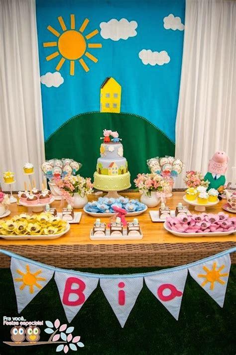 kara s ideas peppa pig themed birthday planning ideas decor idea cake