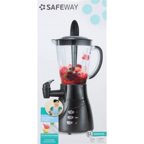 Safeway Smoothie Maker Black   Clicks