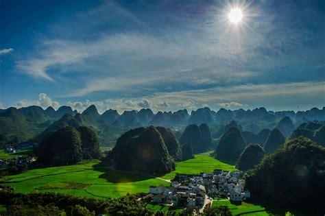 Xingyi in southern China