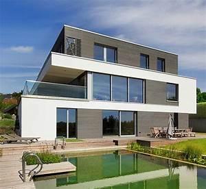 Häuser Im Bauhausstil : bauhaus russell von baufritz klassische flachdach architektur in holzbauweise ~ Watch28wear.com Haus und Dekorationen