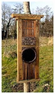 Nichoir A Insecte : les 91 meilleures images propos de nichoirs pour ~ Premium-room.com Idées de Décoration
