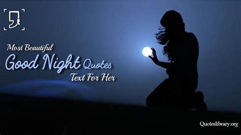 good night quotes romantic cute good night love quotes