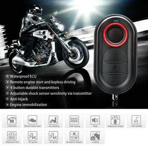 Steelmate Anti Theft Motorcycle Alarm System Remote Engine