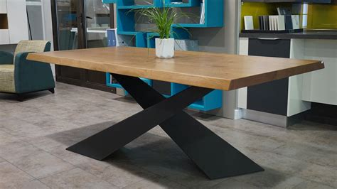 pied de table cuisine table riflessi living en promotion