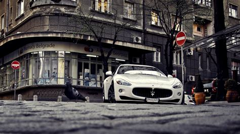 Car, Sports Car, Maserati, City, Belgrade, Beograd