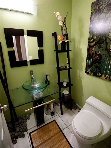 Decorating Ideas For Small Windowless Bathrooms by Best 25 Green Bathroom Colors Ideas On Green