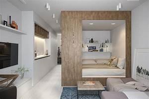 Aménagement Petit Appartement : plans pour am nager et d corer un appartement de 30m2 ~ Nature-et-papiers.com Idées de Décoration