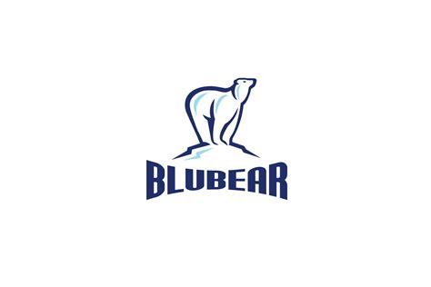 Blubear Polar Bear Logo