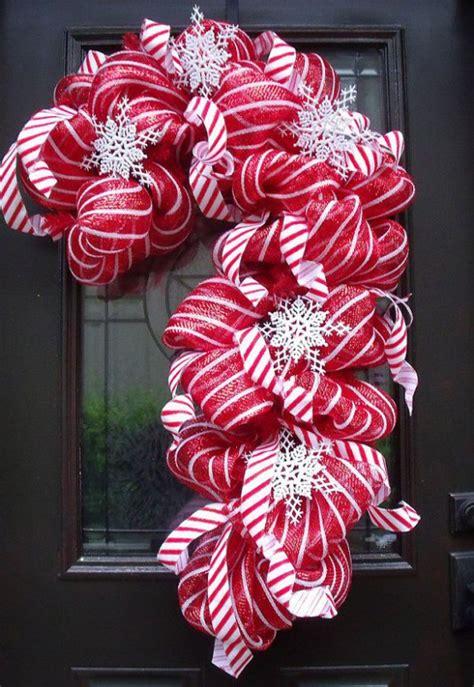 candy cane decor ideas  christmas interior god