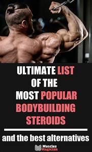 List Of Bodybuilding Steroids In 2020