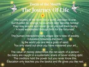 Poems About Life Journey