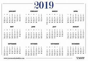 Free Printable Calendar 2020 Templates 2019 Calendars Download Pdf Templates