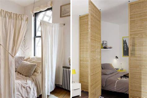 photo cuisine ouverte créer une chambre dans un studio trucs astuces déco