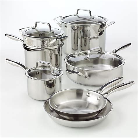 stainless steel bobby flay cookware cooking kohl kohls pc any pot