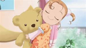 Little Girl Holding A Teddy Bear - Hot Girls Wallpaper