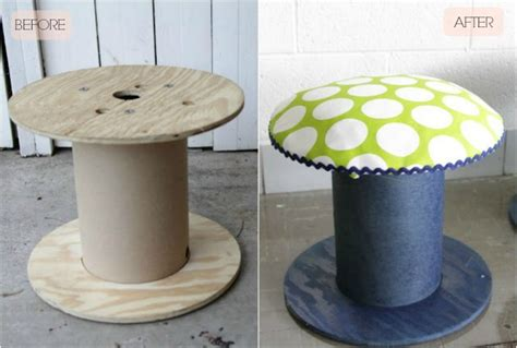 repurpose ideas   wooden spools